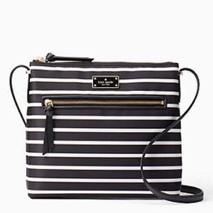 Kate Spade Dessi Wilson Road French Stripe Purse